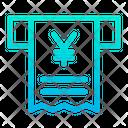 Yen Receipt Bill Icon
