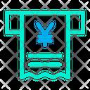 Receipt Yen Icon