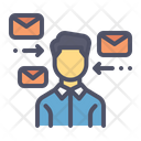 Receive Mail Message Icon