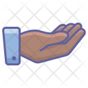 Receive Finger Hand Icon