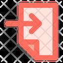 Receive Document Inbox Icon