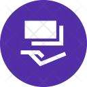 Receive Funds Donation Icon