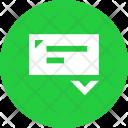 Receive Check Cheque Icon