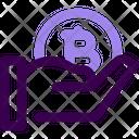 Receive Bitcoin Icon