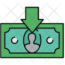 Receive Cash Banknote Icon