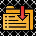 Receive Data Folder Icon