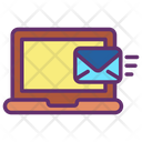 Receive Email Laptop Icon