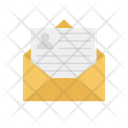 Receive Mail Receive Resume Mail Icon