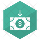 Money Receive Finance Icon