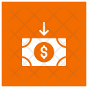 Receive Money Finance Icon