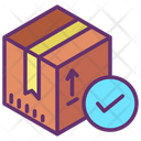 Received Delivery Package Deliveredd Courier Delivered Icon