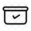 Received Order Process Business Icon