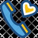 Receiver Romantic Talk Icon