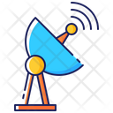 Receiver Communication Dish Icon
