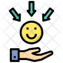 Receiver Happy Sharing Icon