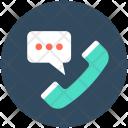 Receiver Phone Helpline Icon
