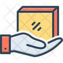 Receiver Parcel Icon