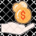 Receiving Money Money Receiving Icon