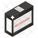 Reception Welcome Desk Front Desk Icon