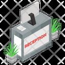 Reception Welcome Hotel Reception Icon