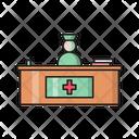 Reception Hospital Clinic Icon
