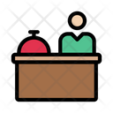 Reception Alert Table Icon