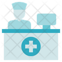 Medical Service Reception Service Icon
