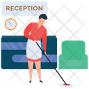 Reception Cleaning Icon