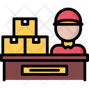 Table Box Delivery Icon