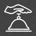 Receptionist Bell Ring Icon