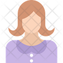 Anchor Miss Girl Avatar Icon