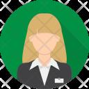 Receptionist Hotel Avatar Icon