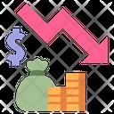 Recession Economy Business Icon
