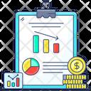 Dollar Recession Recession Analytical Recession Icon