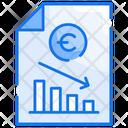 Recession Finance Business Icon
