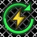 Recharge Energy Power Icon