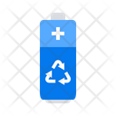 Battery Garbage Recycle Icon