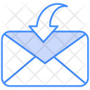Recieve Email Icon