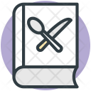 Recipe Book Cookbook Icon