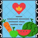 Recipe Cookbook Method Icon