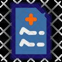 Recipe Notes Medical Icon