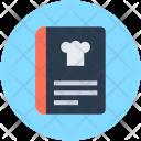 Recipe Book Cookbook Icon