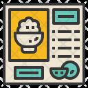 Recipe Method Formula Icon