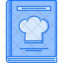 Book Recipe Kitchen Icon
