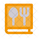 Recipe Book Kitchen Cooking Icon