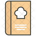 Recipe Book Cookbook Cooking Book Icon