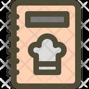 Recipe Book Cook Icon