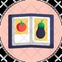 Salad Recipe Book Icon