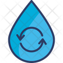 Ecology Reuse Water Icon