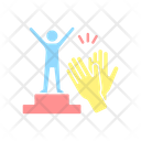 Recognition And Approval Motivation Icon